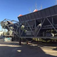 Buy cheap 500T / H Movable Stabilized Soil Mixing Station Double Shaft Forced With Bin from wholesalers