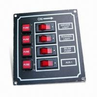 Buy cheap 4-gang Switch Panel, Suitable for Installation of Marine Electrical Systems from wholesalers