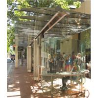 Buy cheap Transparent Toughened Laminated Glass ASMT Standard Light Green from wholesalers