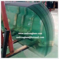 Buy cheap Big Size Customized Tempered/Toughened Glass with Good Quality from wholesalers