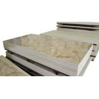 Buy cheap Office Building Patterned Decorative Fiber Cement Board Marble Design Sound Insulated from wholesalers