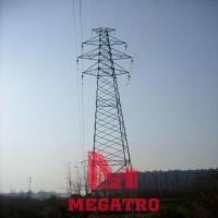 Buy cheap 110KV double circuit angular steel tower from wholesalers