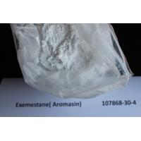 Buy cheap Anti Estrogen Exemestane / Aromasin Raw Steroid Powders For Breast Cancer Treatment 107868-30-4 from wholesalers
