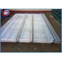 Buy cheap Galvanized 3D Wire Mesh Fence Panels Round / Square / Peach Post Type from wholesalers