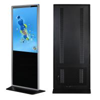 Buy cheap 43 Floor Standing Lcd Advertising Display Media Player Support Lan / Wlan Network from wholesalers