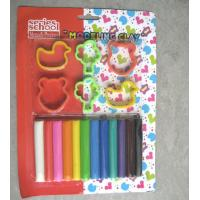 Buy cheap 12 colors modeling clays with animal shapes,12 colors modeling clays for children from wholesalers