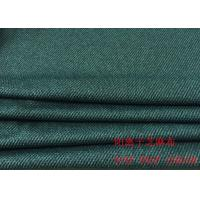 Buy cheap 88%P 12%SP SESAME  DARK BLUE STRIPED JACQUARD FABRIC FOR CLOTHES from wholesalers