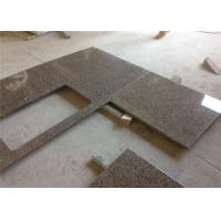 Buy cheap Tropical Brown Granite Prefab Stone Countertops Elegant Appearance from wholesalers