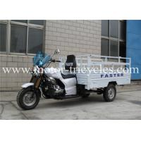 Buy cheap RS250ZH-F1 High Box Cargo Motor Tricycle , Cargo Gas Motorcycle ISO9000 Certification from wholesalers