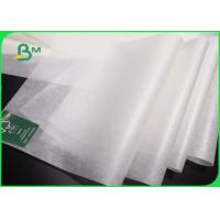 Buy cheap Oil Proof Butcher Paper Roll / Food Grade White Baking Paper With Logo Customized from wholesalers