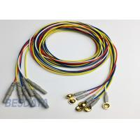 Buy cheap BCI Researcher EEG Electrode Cap Used Multicolor Coated Gold EEG Electrodes Din 1.5 from wholesalers