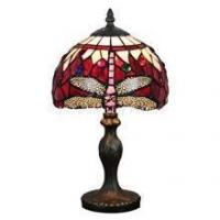 Buy cheap TL080016-dragonfly tiffany glass lamp home decoration from wholesalers