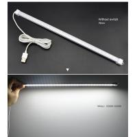 Buy cheap Portable USB LED Cabinet Light DC 5V Hard wall lamp tube Reading Desk light with button switch on/off For Kitchen Night from wholesalers