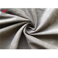 China 100% Polyester Micro Brushed Faux Suede LeatherFabric , Upholstery Fabric on sale