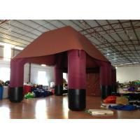 Buy cheap Big Party Inflatable Event Tent Sewing Sealed Pvc Tarpaulin Waterproof Customized from wholesalers