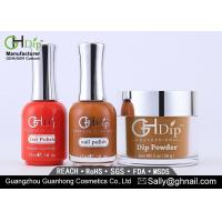 Nail Beauty Natural Dip Powder System 3 In 1 Perfect Color With Dip Powder / Gel / Polish