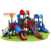 Buy cheap High Creativity Outdoor Playground Slides Durable UV - Resistant Security Oriented product