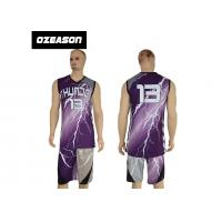 Buy cheap Hotsale Sublimated Custom Logo Quick Dry Basketball Jersey For Sale from wholesalers