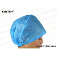 Buy cheap Sterile Disposable Surgical Caps , Surgical Operating Room Disposable Bouffant Scrub Caps from wholesalers