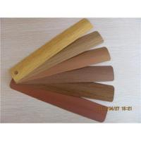 Buy cheap Wood color aluminum blind slats from wholesalers