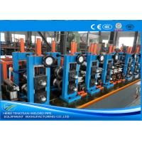 Buy cheap Adjusted ERW Tube Mill Production Line Energy Saving Blue Color HG32 from wholesalers