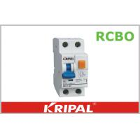 Buy cheap 1P+N 10kA Residual Circuit Breaker 2 Pole with Over Current RCBO product