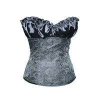 Buy cheap New and Fashion corsets Sexy women corsets Satin corsets Lace corsets Elegant Women Gray Lvory Renaissance Corset Top from wholesalers