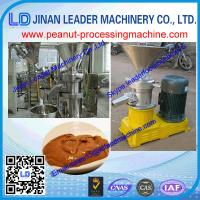 Buy cheap 60-80kg stainless steel Wet particle processing peanut butter making machine with CE from wholesalers