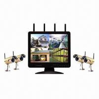 Buy cheap 2.4GHz Digital Wireless 15-inch LCD/DVR Video Recording System  from wholesalers