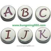 Buy cheap Slider Letters,crystal Slider Letter, Alphabets Hf4-4  from wholesalers