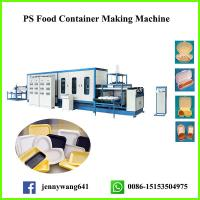 Buy cheap One Time GPPS Foam Fast Food Box Machine from wholesalers