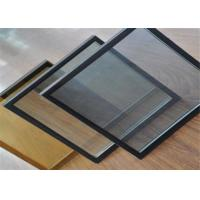 China Tinted Tempered Double Glazed Insulated Glass / Hollow Glass For Curtain Wall on sale