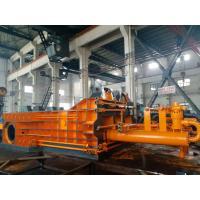 Buy cheap Motor Powerd Scrap Baler Machine , Scrap Baling Machine High Density Double from wholesalers
