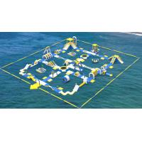 Buy cheap Giant Inflatable Water Toys Game / Inflatable Outdoor Water Theme Park Manufacturer from wholesalers