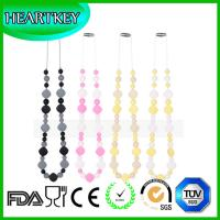 Buy cheap Premium BPA-free 100% Food Grade Silicone Teething Nursing Breastfeeding Baby-safe Necklac from wholesalers