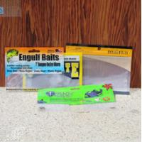Buy cheap Customize Retail small fishing lure packaging bag , 50g fishing  luer bag product