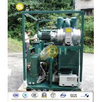 Buy cheap Mobile Transformer Oil Purifier / Oil Filtration Plant With Fully Aluminum Closed Doors from wholesalers