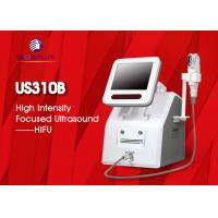 Buy cheap 2 In 1 Hifu Facelift Machine 5 Cartriges For Wrinkle Removal / Body Slimming from wholesalers