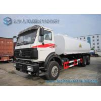 Buy cheap North Benz 6x4 Chemical Tanker Truckr Carbon Steel  22000 L Fuel Tanker Truck from wholesalers