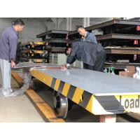 Buy cheap U frame Cart 10 Ton Battery  Motorized Transfer Trolley for Steel Pipe movement from wholesalers