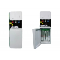 Buy cheap Pipeline Compressor R134a Refrigerant Drinking Water Dispenser 3 Taps from wholesalers
