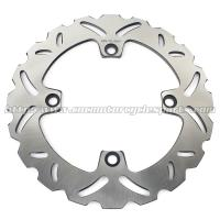 Buy cheap Stainless Steel Motorcycle Brake Disc Wheel Disc Brakes HORNET 600 Heat Treatment 6 Holes from wholesalers
