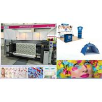 Buy cheap Roll To Roll Flag Printing Machine Digital Fabric Dye Printer Computer Control from wholesalers