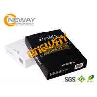 Buy cheap Luxury Glossy Printed Packaging Boxes Black And White Die Cut 2 - 7 mm Thickness from wholesalers