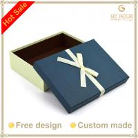 Buy cheap Paperboard boxes with silk ribbon product