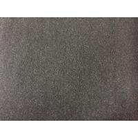 Buy cheap 100 Polyester Velvet Fabric 580g/m , Wool Upholstery Fabric Charcoal Color from wholesalers