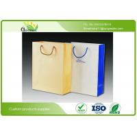 Buy cheap Silk Printed Paper Shopping Bags, Die Cutting Handle Kraft Paper Gift Bags from wholesalers