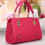 Buy cheap PU Women Leather Handbags 2015 New Fashion Designer Bags Handbags Famous Brand Women Bag L from wholesalers