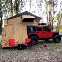 Buy cheap Customized Truck Pop Up Roof Top Tent Streamlined Design For Family from wholesalers