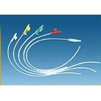 Buy cheap Disposable medical non - toxic PVC Finger control Sputum suction tube with CE and ISO product